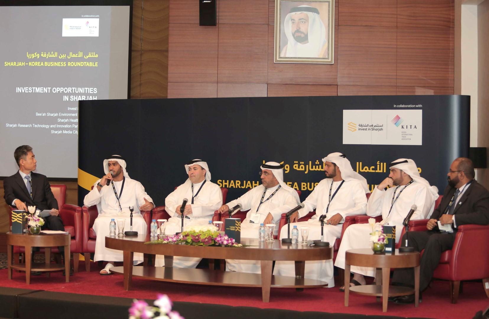 [:en]Sharjah - Korea Business Roundtable[:ar]الشارقة - طاولة مستديرة للأعمال الكورية[:]
