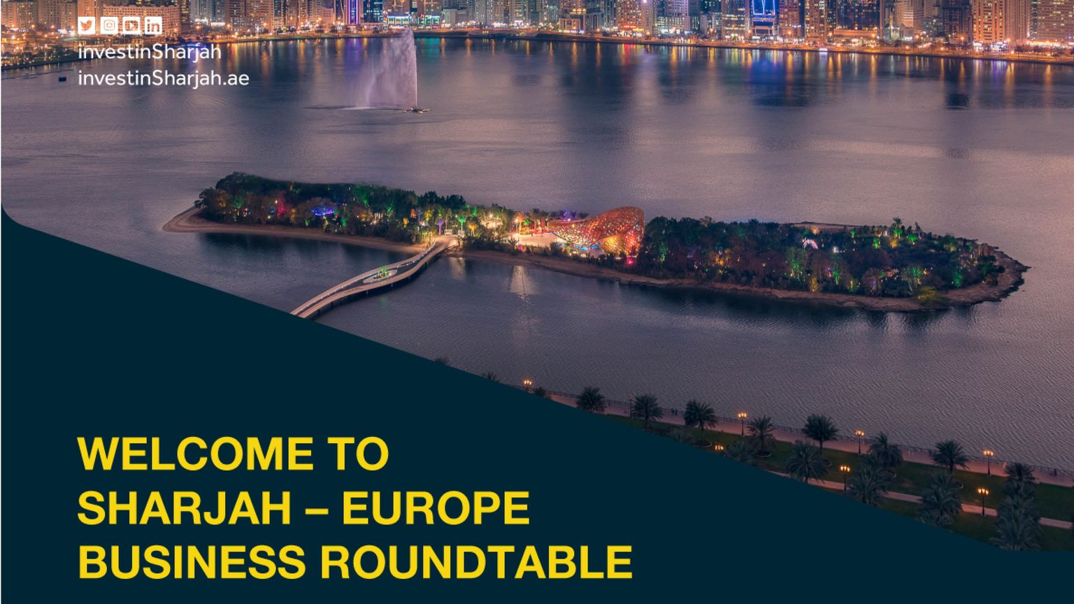 Sharjah-Europe Business Roundtable